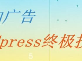 文章中添加广告-wordpress终极技巧