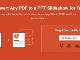 Convert PDF to PowerPoint: 免费在线PDF转换成PPT
