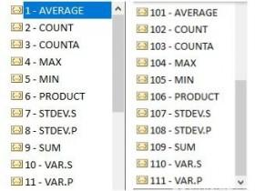 统计函数Subtotal详解与实际运用