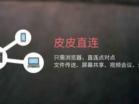 皮皮直连-有网就能用,打开浏览器就能传文件、共享屏幕